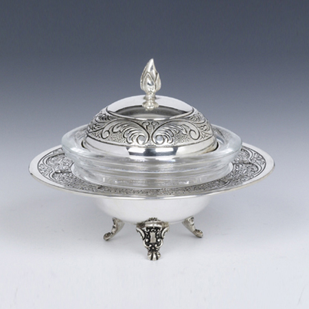 Resital Silver Honey & Sugar Dish