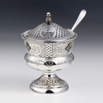 Greda Silver Honey & Sugar Dish