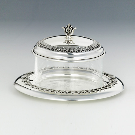 Filigree Honey & Sugar Dish