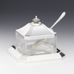 Bagatel Silver Honey & Sugar Dish