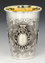 Portofino Sterling Silver Kiddush Cup