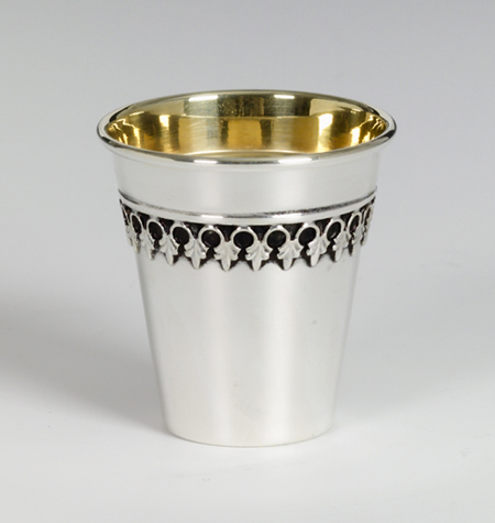 Filigree Sterling Silver Liqueur Cup