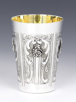 Hazorfim Margarita Sterling Silver Kiddush Cup