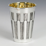 Gemma Sterling Silver Kiddush Cup