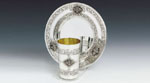 Pas Prachim Sterling Silver Kiddush Cup Set