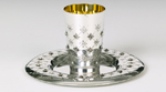 Chentoroza Sterling Silver Kiddush Cup Set