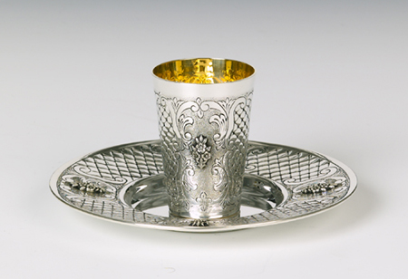 Sirmione Sterling Silver Kiddush Cup Set
