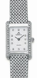 Euro Geneve 14K White Gold Watch
