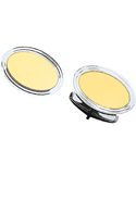 Bonded Sterling Silver and 14K Gold Oval Cufflinks-86377
