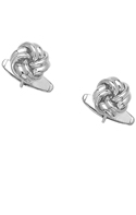 .925 Sterling Silver Love Knot Cuff Links 86651