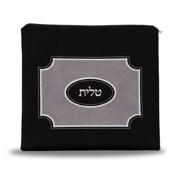 Black Suede Tallis Bag Set 900bk