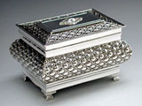 Bubbles Silver Etrog Box