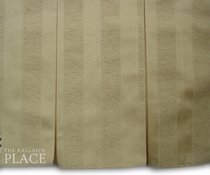 "5"" Box Pleats Style Dust Ruffle Set - Prince"