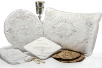 4 Piece Swarovski Crystal Seder Set