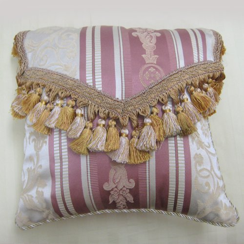 Matching Tasseled Envelope Throw Pillow