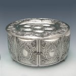 Hazorfim King Sterling Silver Seder Case