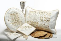 Illuminations 4 Piece Brocade Pesach Set