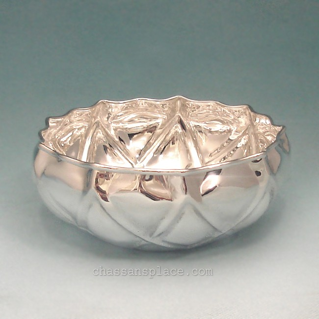 Italian Shiny Sterling Silver Bowl