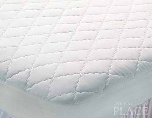 Mattress Pad Deluxe - Quilted 100% Cotton
