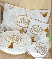 4 Piece Brocade Pesach Set