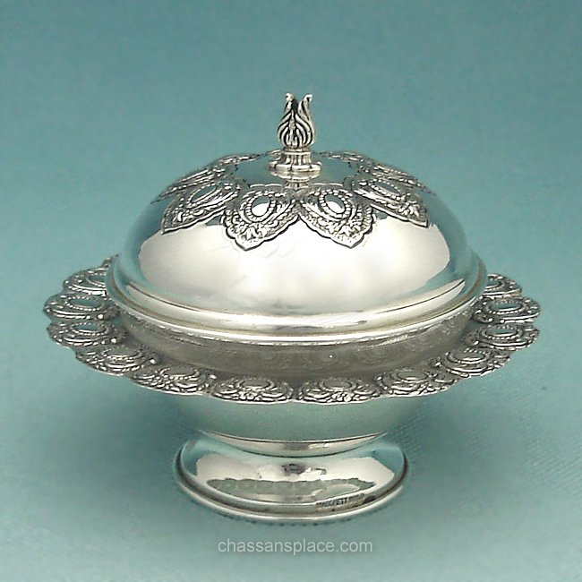 Masoret Silver Honey Dish