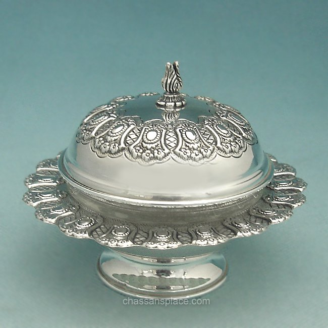 Masoret Sterling Silver Honey Dish