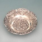 Sun Flower Sterling Silver Small Bowl
