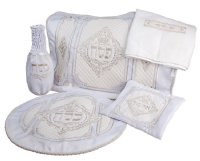 5 Piece Brocade Pesach Set #830
