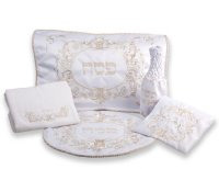5 Piece Brocade Pesach Set #860