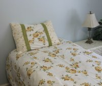 Royal Yellow Linen Set - PolyCotton 250-Thread Count