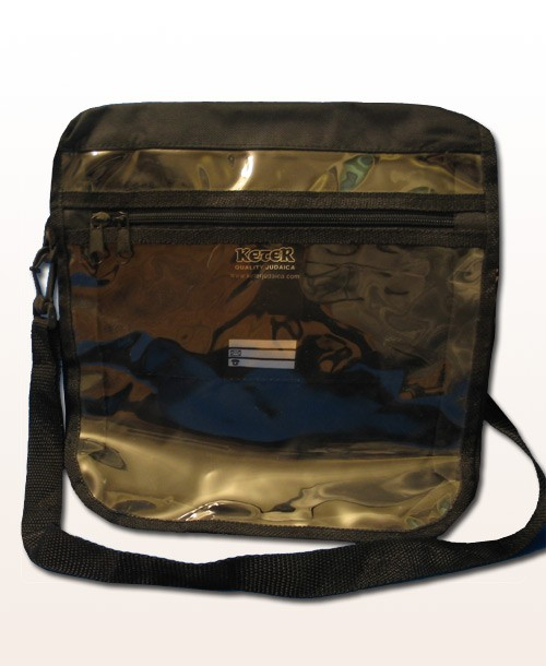 Tefillin Bag Clear Front Tote